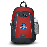 Impulse Red Backpack-Primary Logo