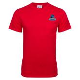 Red T Shirt w/Pocket-Primary Logo