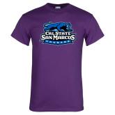 Purple T Shirt-Secondary Logo