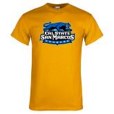 Gold T Shirt-Secondary Logo