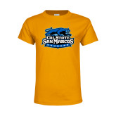 Youth Gold T Shirt-Secondary Logo