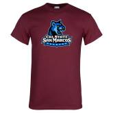 Maroon T Shirt-Primary Logo
