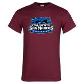 Maroon T Shirt-Secondary Logo