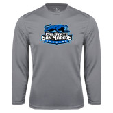 Performance Steel Longsleeve Shirt-Secondary Logo