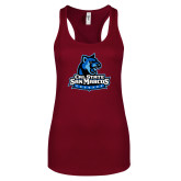 Next Level Ladies Cardinal Ideal Racerback Tank-Primary Logo