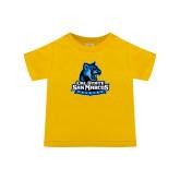 Toddler Gold T Shirt-Primary Logo