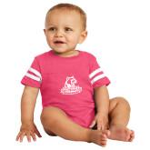 Vintage Hot Pink Jersey Onesie-Primary Logo