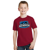 Youth Cardinal T Shirt-Secondary Logo
