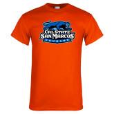 Orange T Shirt-Secondary Logo