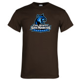 Brown T Shirt-Primary Logo