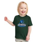 Toddler Dark Green T Shirt-Primary Logo