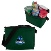 Six Pack Dark Green Cooler-Primary Logo