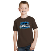 Youth Brown T Shirt-Secondary Logo
