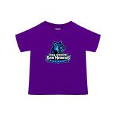 Toddler Purple T Shirt-Primary Logo