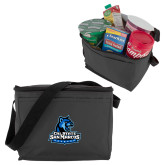 Six Pack Grey Cooler-Primary Logo