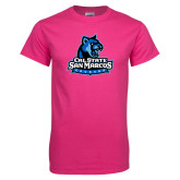 Hot Pink T Shirt-Primary Logo