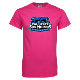 Hot Pink T Shirt-Secondary Logo