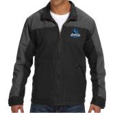 DRI DUCK Horizon Charcoal/Black Canvas Jacket-Primary Logo
