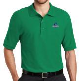 Kelly Green Easycare Pique Polo-Primary Logo