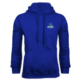 Royal Fleece Hoodie-Primary Logo