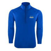 Sport Wick Stretch Royal 1/2 Zip Pullover-Secondary Logo