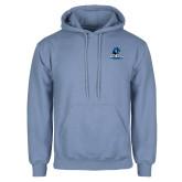 Light Blue Fleece Hoodie-Primary Logo