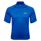 Royal Textured Saddle Shoulder Polo-Primary Logo