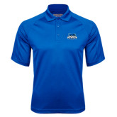 Royal Textured Saddle Shoulder Polo-Secondary Logo