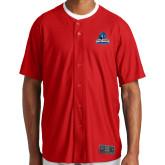 New Era Red Diamond Era Jersey-Primary Logo