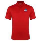 Columbia Red Omni Wick Drive Polo-Primary Logo