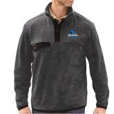 DRI DUCK Denali Charcoal Fleece Pullover-Primary Logo
