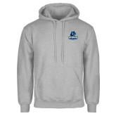 Grey Fleece Hoodie-Primary Logo