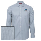 Red House Light Blue Diamond Dobby Long Sleeve Shirt-Primary Logo