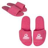 Hot Pink Waffle Slippers-Primary Logo