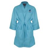Aqua Waffle Kimono Robe-Primary Logo