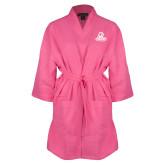 Hot Pink Waffle Kimono Robe-Primary Logo