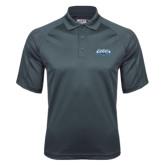 Charcoal Dri Mesh Pro Polo-Tertiary Logo