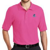 Tropical Pink Easycare Pique Polo-Primary Logo