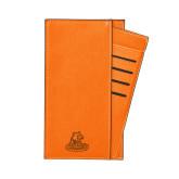 Parker Orange RFID Travel Wallet-Primary Logo Engraved