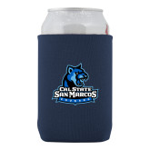 Neoprene Navy Can Holder-Primary Logo