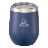 Corzo Vacuum Insulated Navy Cup 12oz-Primary Logo Engraved