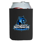 Neoprene Black Can Holder-Primary Logo