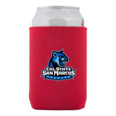 Neoprene Red Can Holder-Primary Logo