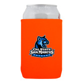 Neoprene Orange Can Holder-Primary Logo