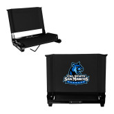 Stadium Chair Black-Primary Logo