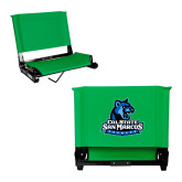 Stadium Chair Kelly Green-Primary Logo