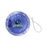 Light Up Blue Yo Yo-Primary Logo