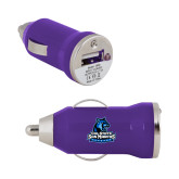 On the Go Purple Car Charger-Primary Logo