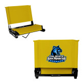 Stadium Chair Gold-Primary Logo