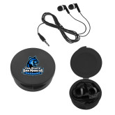 Ear Buds in Black Case-Primary Logo